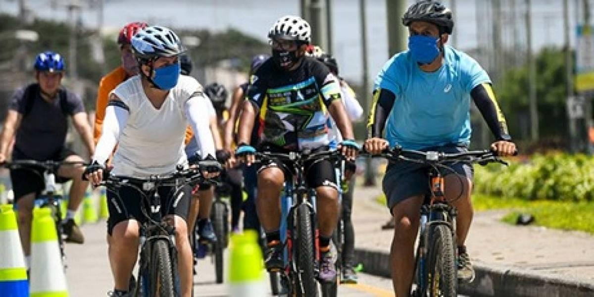 Alcaldesa Viteri anunció fase 1 de la ciclorruta de Guayaquil
