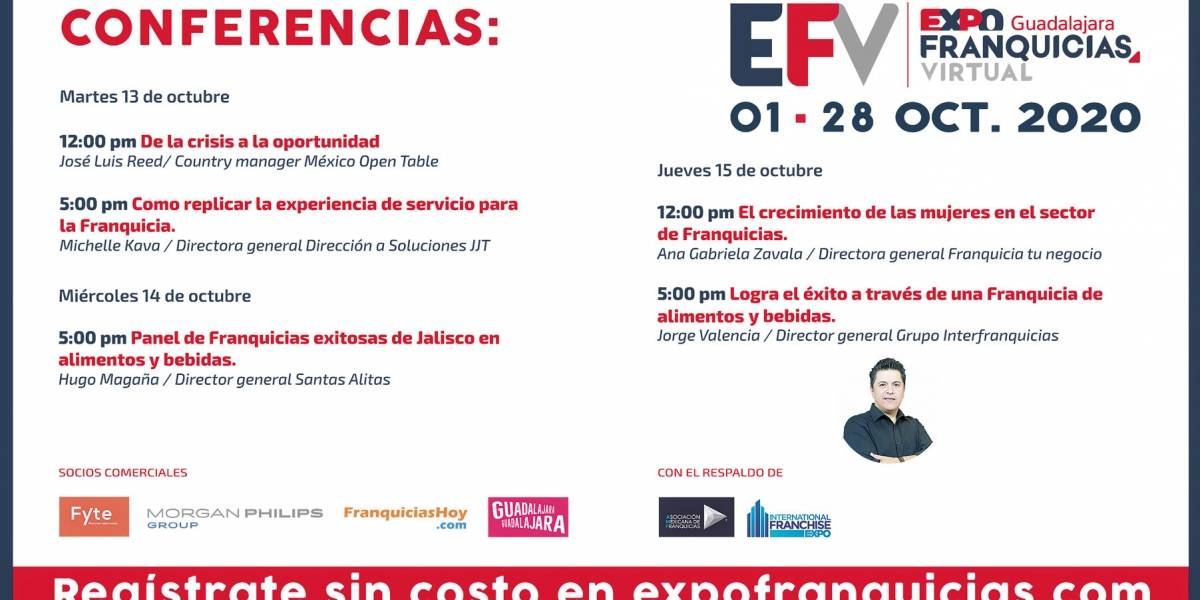 Anuncio Expo Franquicias edición CDMX del 12 de Octubre del 2020, Página 9