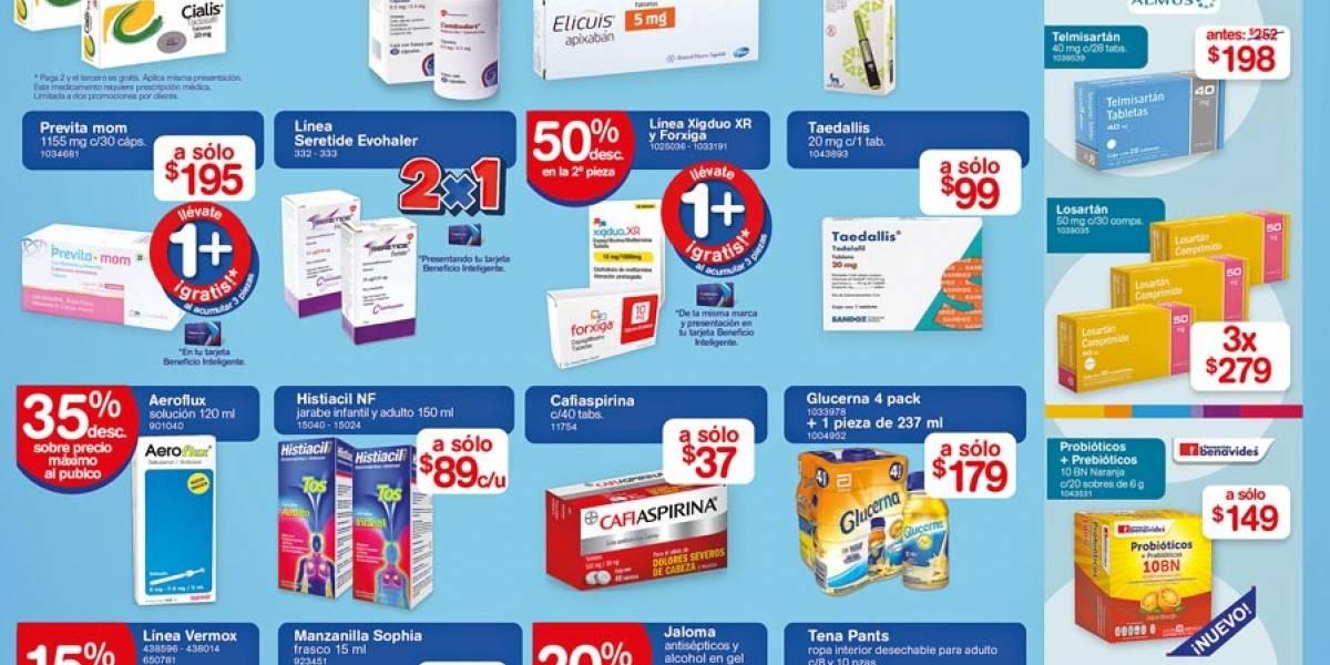 Anuncio Farmacias Benavides edición CDMX del 12 de Octubre del 2020, Página 5