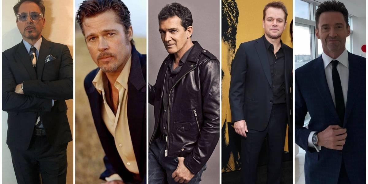 Brad Pitt, Matt Damon y los galanes que lucen mejor que nunca a sus 50's