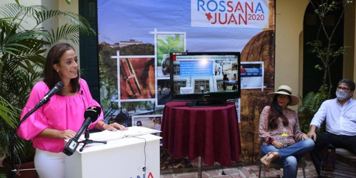 Candidata para la alcaldía de San Juan presenta su propuesta cultural