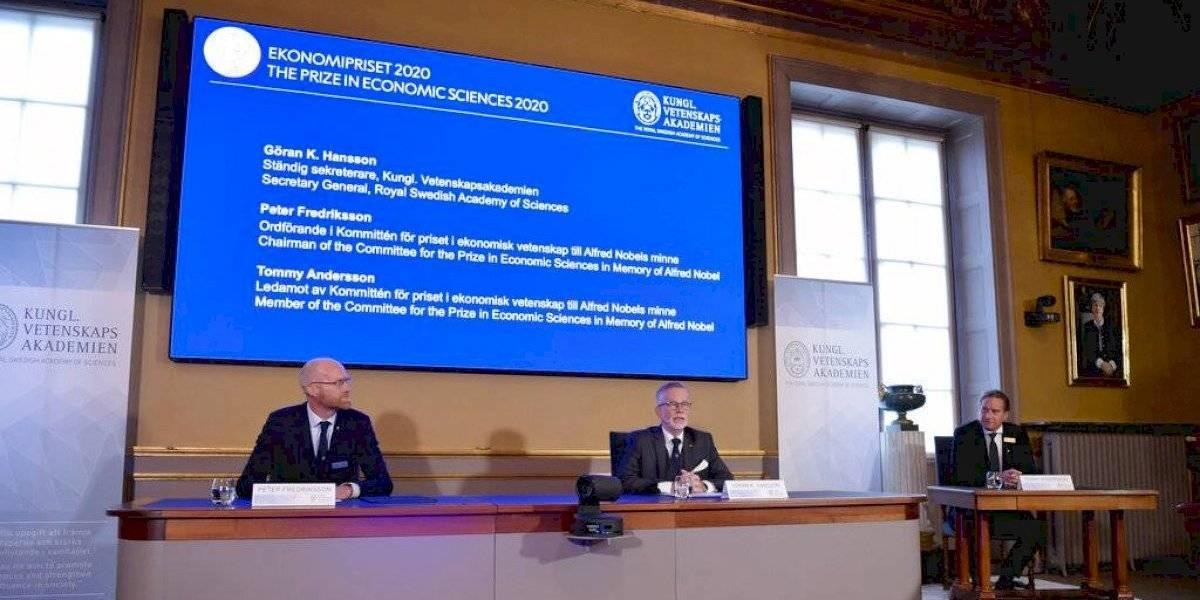 Estadounidenses Paul Milgrom y Robert Wilson ganan el Nobel de economía