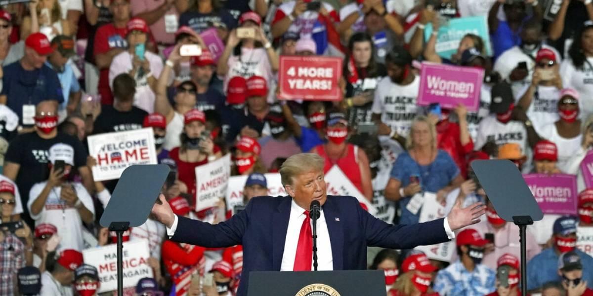 Trump realiza su primera reunión desde que enfermó de COVID-19