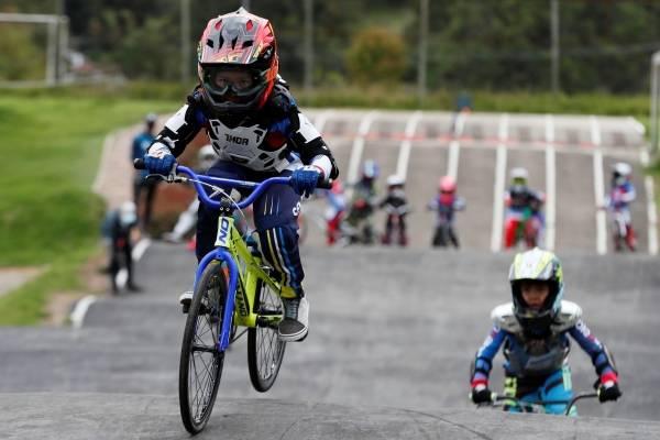 Así avanza la reactivación del BMX en Bogotá