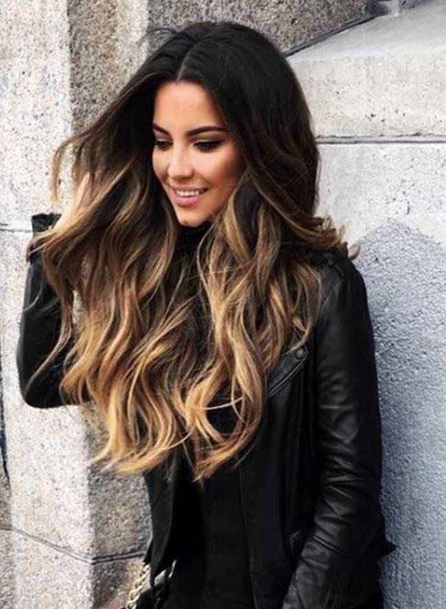 efectos degradados en cabello