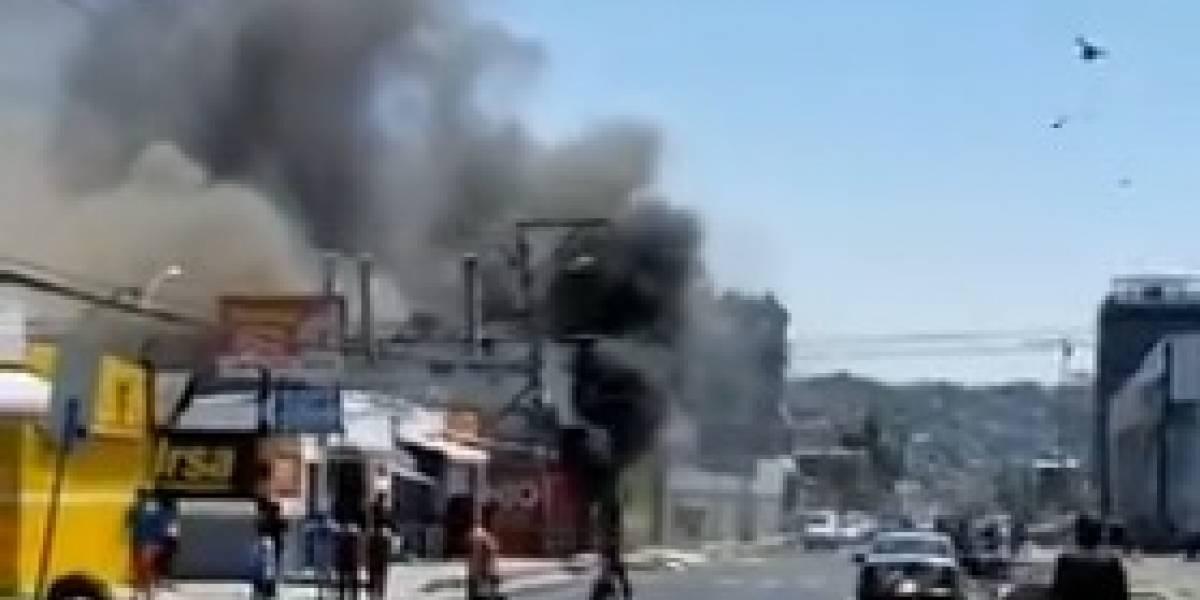 Reportan incendio en Mapasingue, al noroeste de Guayaquil
