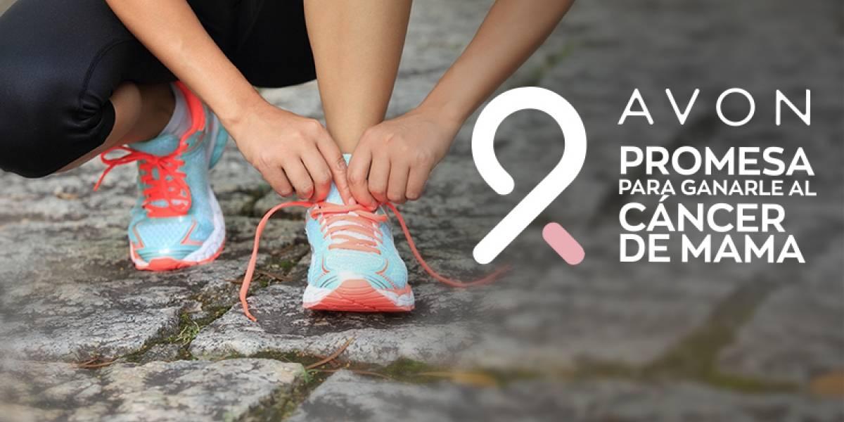 Carrera Virtual Avon: Camina, trota o corre para ganarle al cáncer de mama