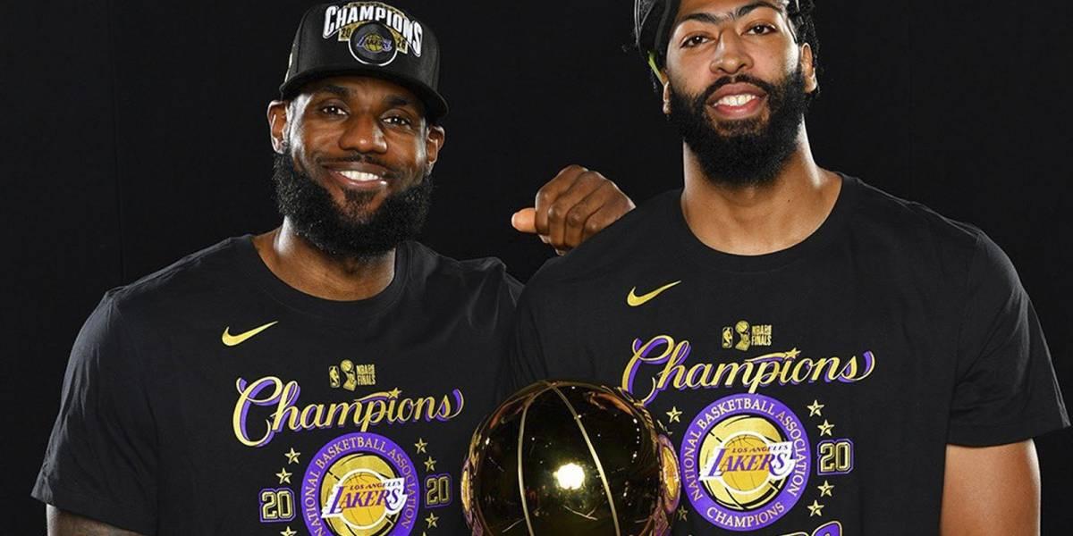 LeBron James-Anthony Davis, y las duplas más poderosas de los Lakers