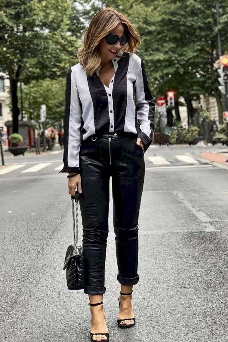 Pantalones de cuero: Cómo lucir elegantes con ellos ...