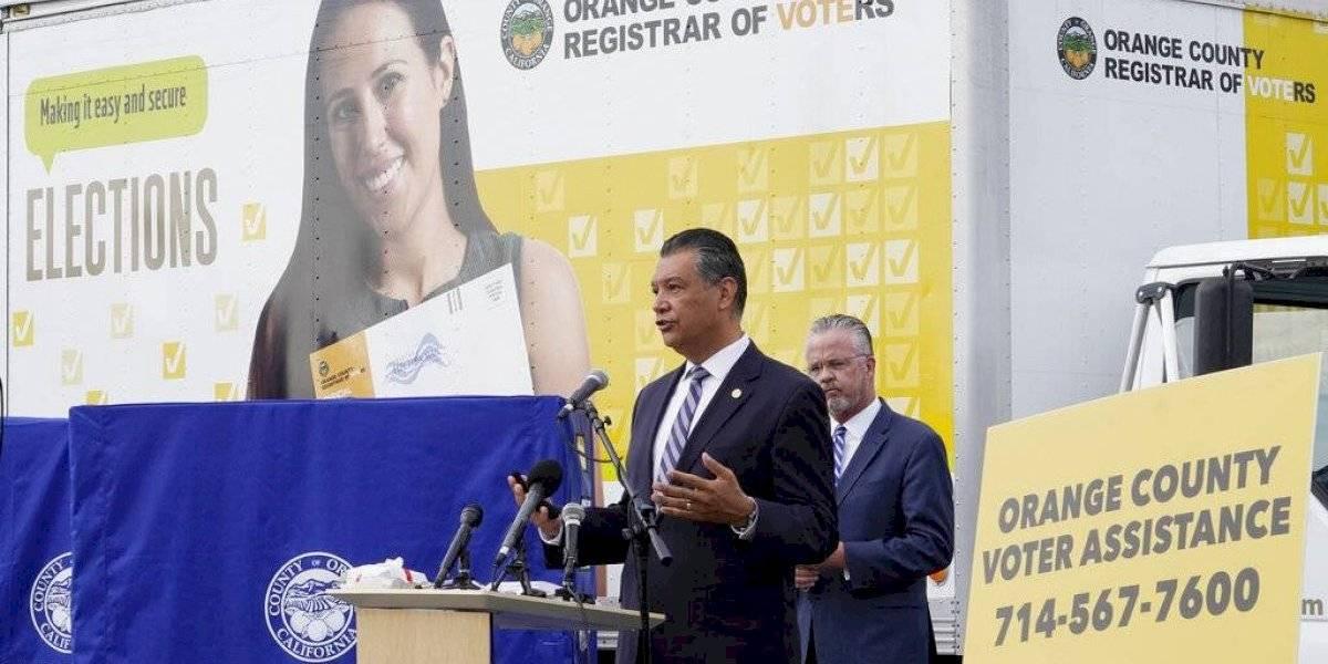 Urnas electorales no oficiales en California pertenecen a los republicanos