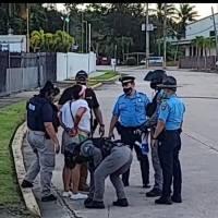"""Arrestan a protestante a favor de """"La Comay"""""""