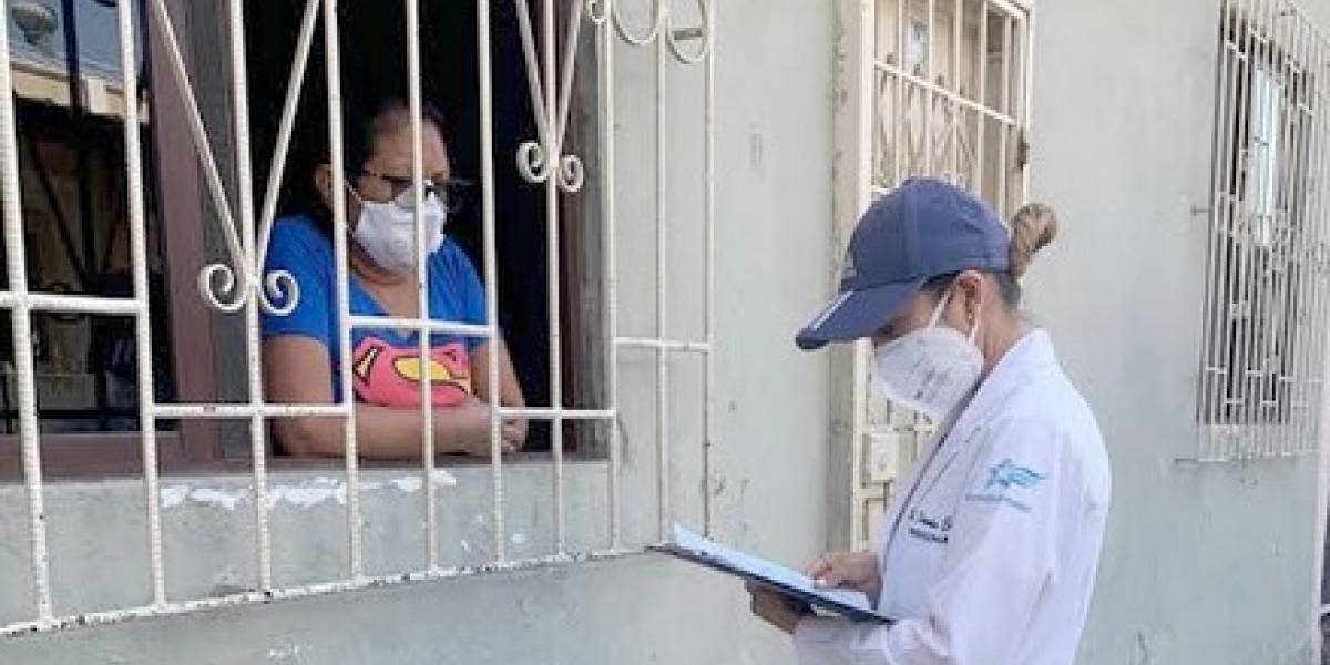 Guayaquil: De cada 10 mil habitantes 1 da positivo al Covid-19, dice sondeo