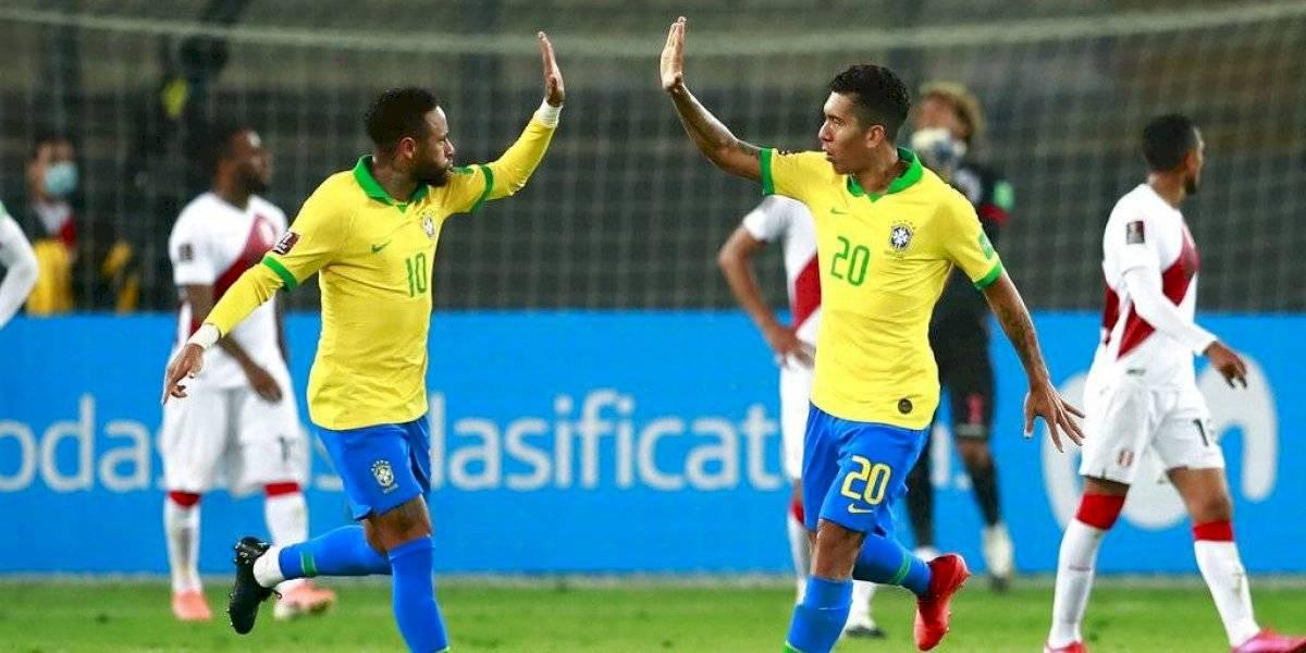 Guerra de goles: Brasil vapuleó a Perú con un inspirado Neymar