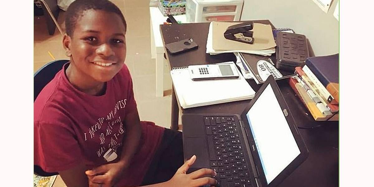 Menino de 12 anos é o mais jovem a cursar engenharia aeroespacial