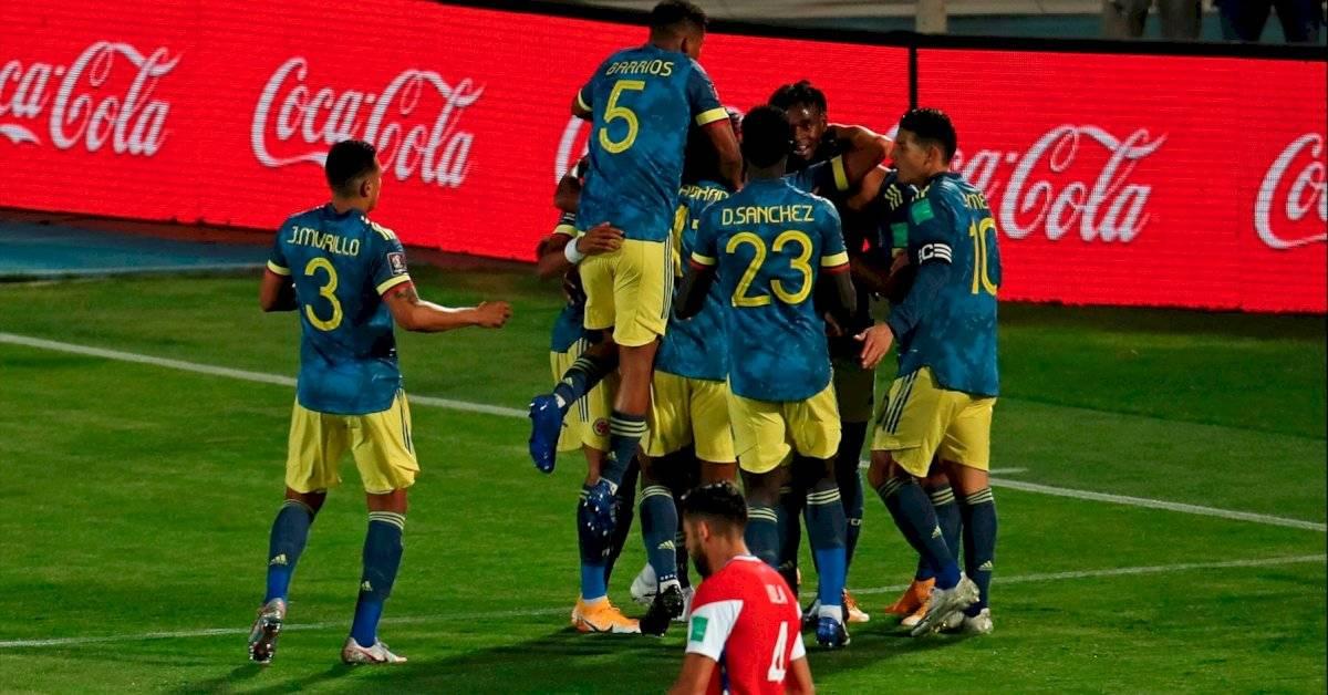 Posiciones Eliminatorias Sudamericanas