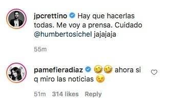 Pamela Díaz y Jean Philippe Cretton