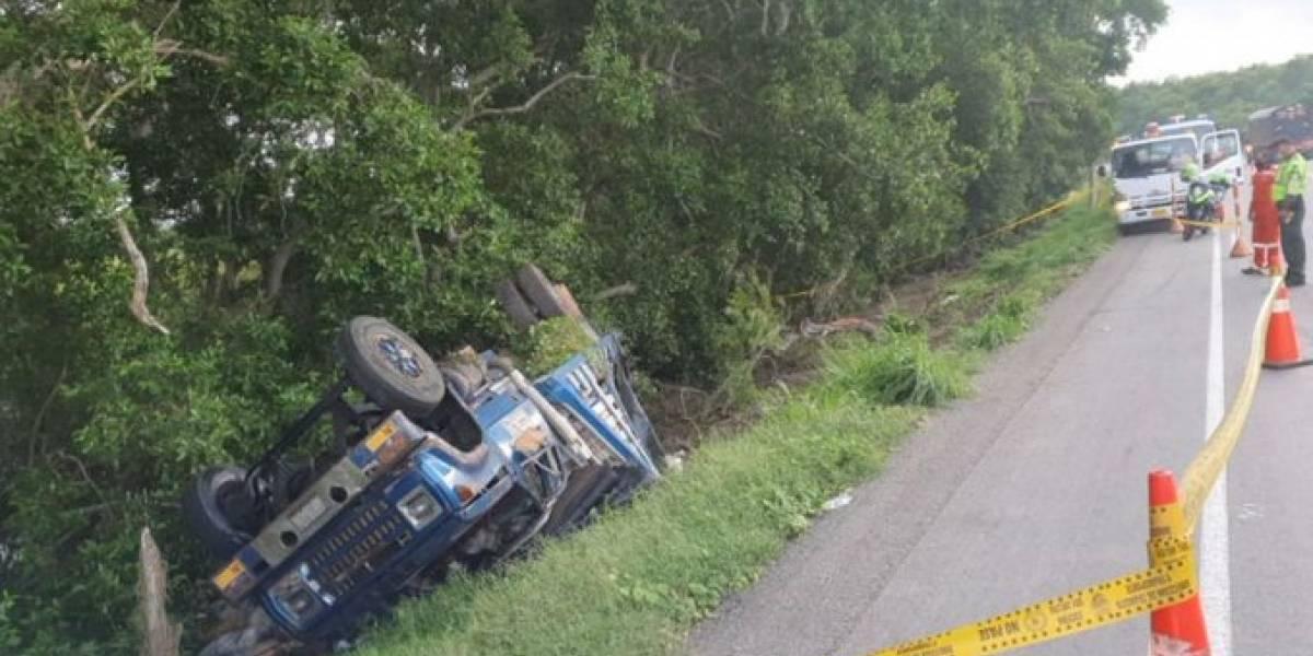 Trágico accidente en la vía a Ciénaga, muy cerca de Tasajera
