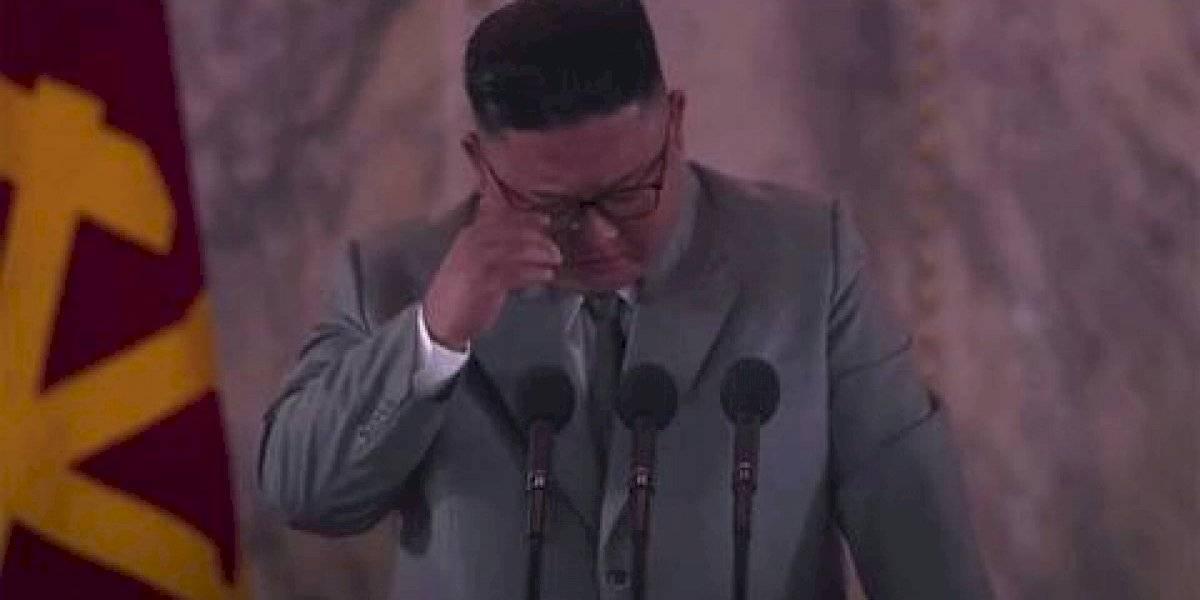 Kim Jong-un impacta: llora en discurso y pide perdón a norcoreanos por no mejorar sus vidas