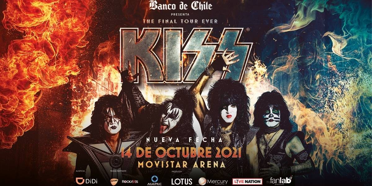 Kiss anuncia novas datas de shows de despedida no Brasil