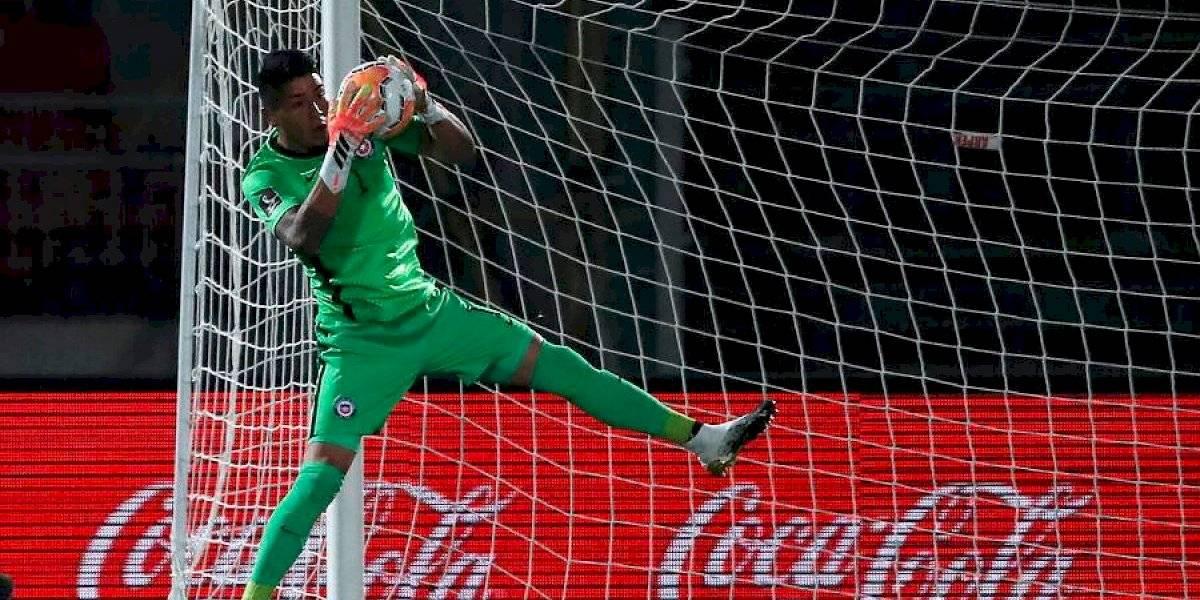 Los gritos de Brayan Cortés en su debut llamaron la atención de los hinchas de la Roja ante Colombia