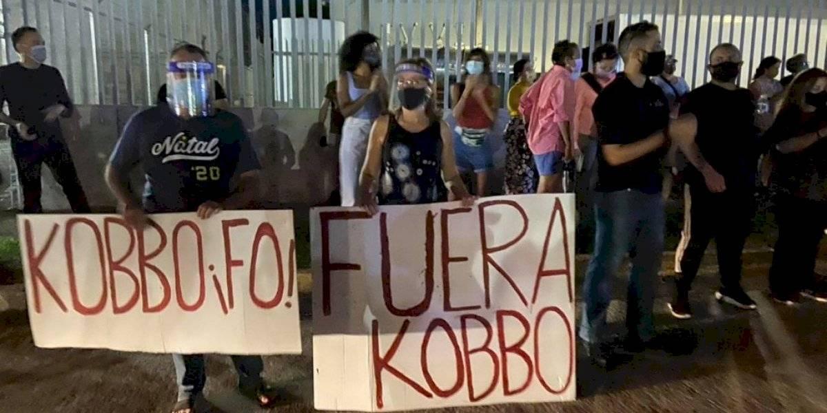 Policía identifica mujeres arrestadas durante manifestación contra Kobbo Santarrosa