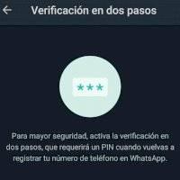 Por qué es importante activar la verificación en dos pasos de WhatsApp