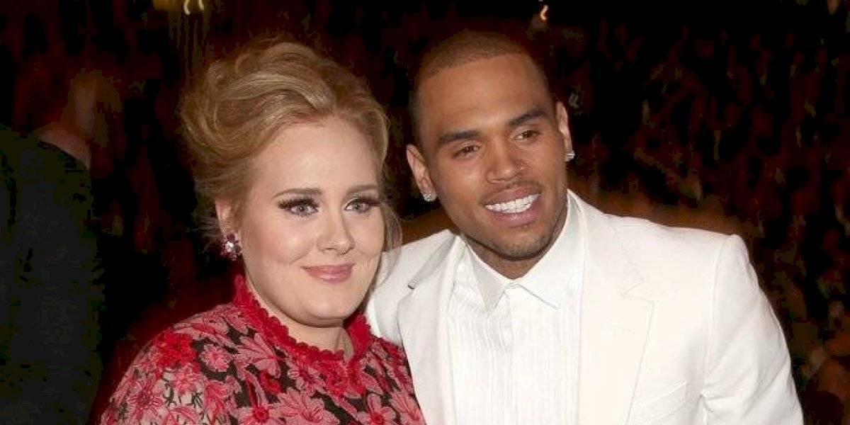 ¿Romance entre Chris Brown y Adele?