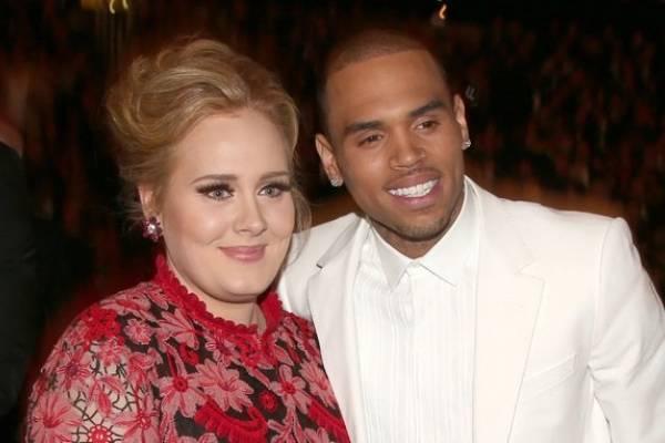 ¿Nuevo romance?: la visita de Chris Brown a Adele que ha desatado una ola de rumores