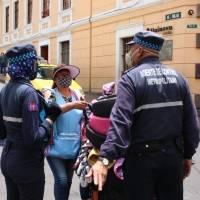 Quito: Agentes de control metropolitano piden ley que proteja su trabajo