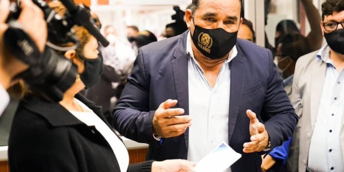 Alcalde de Durán presentó una denuncia en la Fiscalía contra la exagente que agredió a una mujer con discapacidad