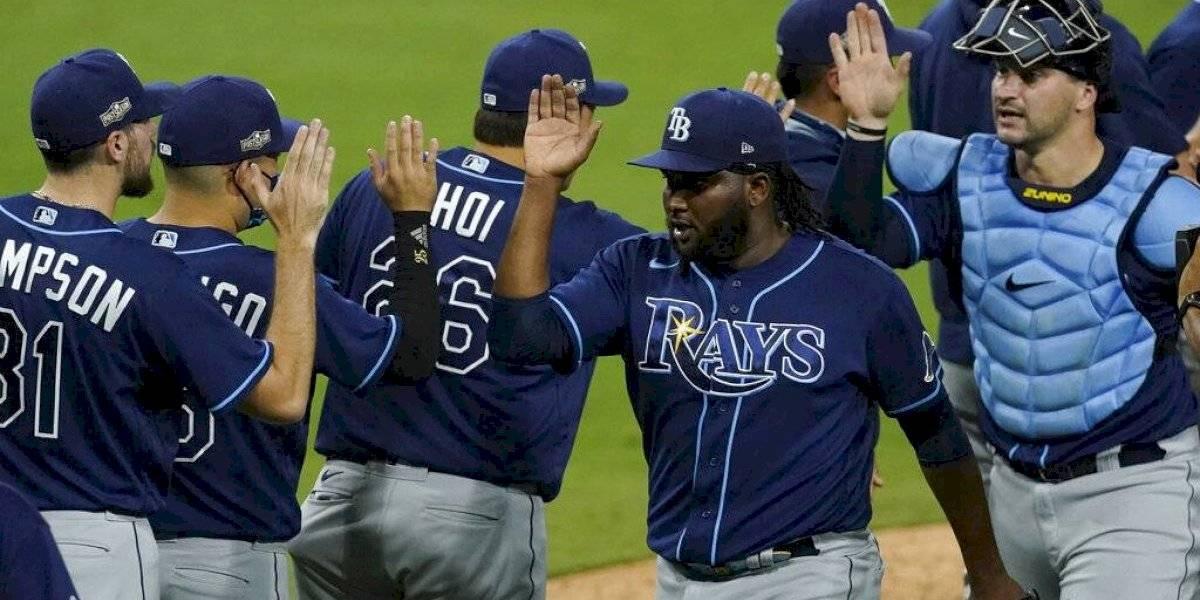 Rays a un triunfo de la Serie Mundial tras superar a los Astros