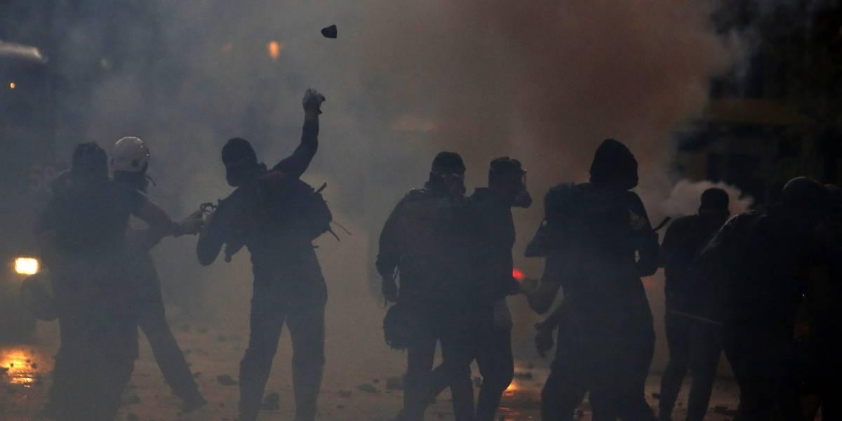 Jornada de manifestaciones en Puente Alto dejó tres detenidos y la presencia del Ejército