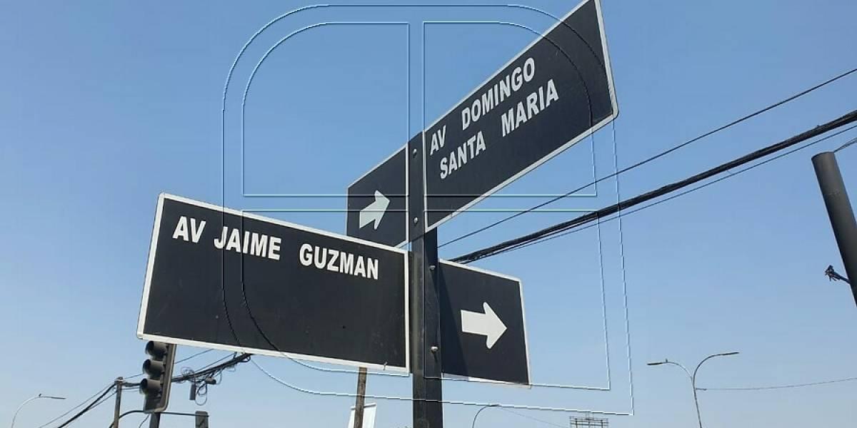 Jaime Guzmán no va más en Renca: concejo municipal aprobó cambio de nombre de la emblemática avenida