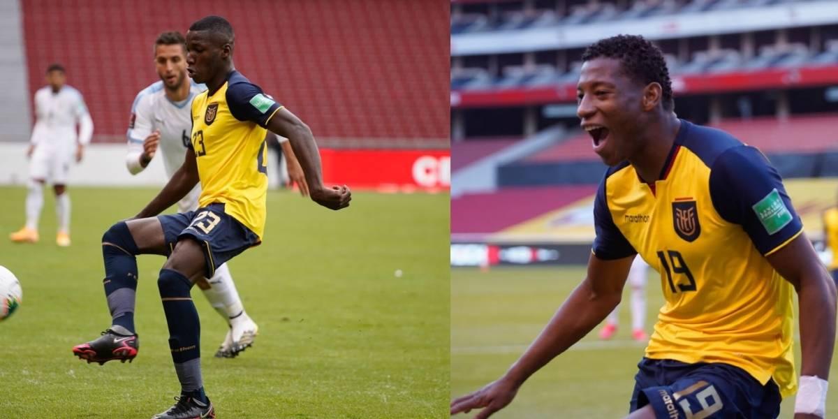 Moisés Caicedo y Gonzalo Plata hacen historia en las Eliminatorias Sudamericanas