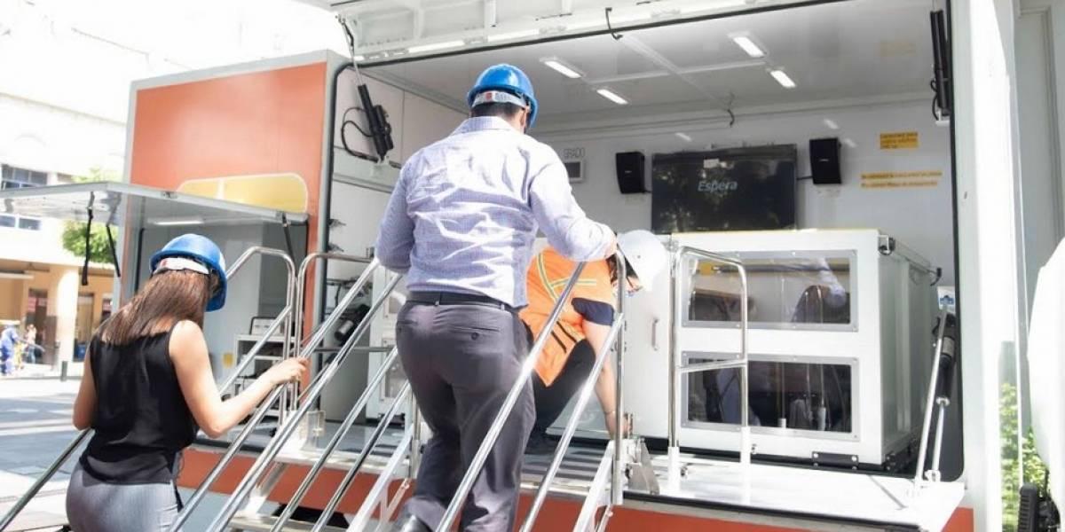 Vehículo simulador de sismos llega a Guayaquil, ciudadanía podrá probarlo hasta el 17 de octubre