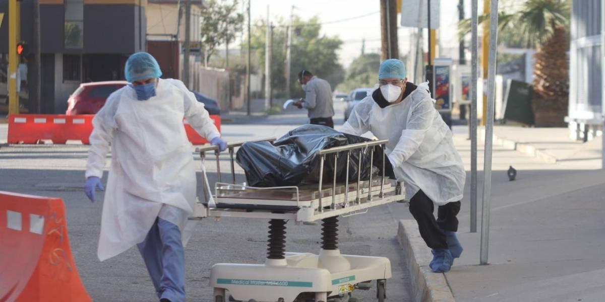 México alcanza las 84 mil 898 muertes por coronavirus