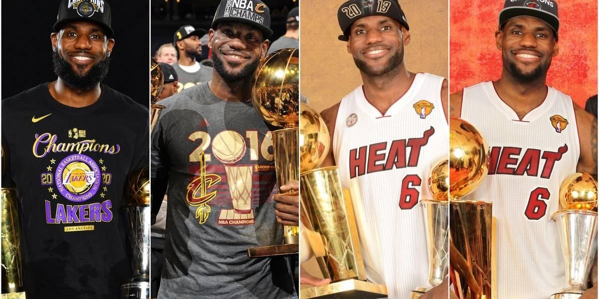 Esto le falta a LeBron James para ser mejor que Jordan