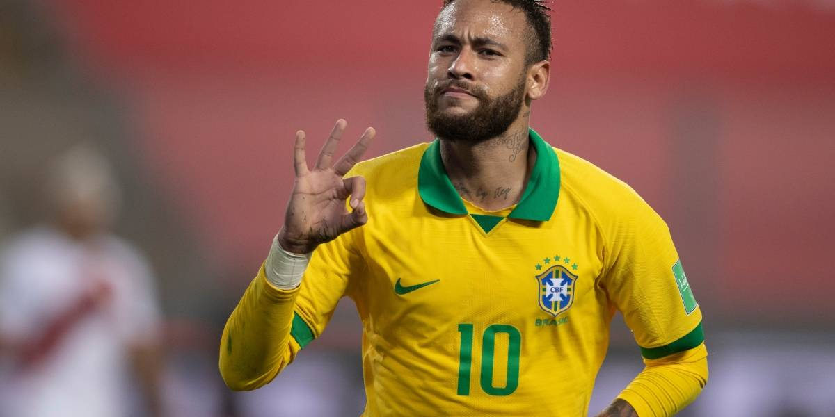 Qué necesita Neymar para superar a Pelé y ser el máximo goleador de Brasil