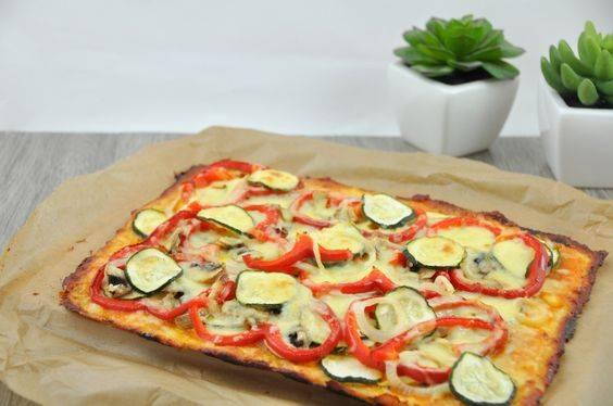 Recetas pizza saludable