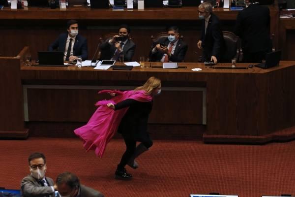 Diputada Pamela Jiles choca con ministro de Hacienda Ignacio Briones en comisión que ve segundo retiro del 10%