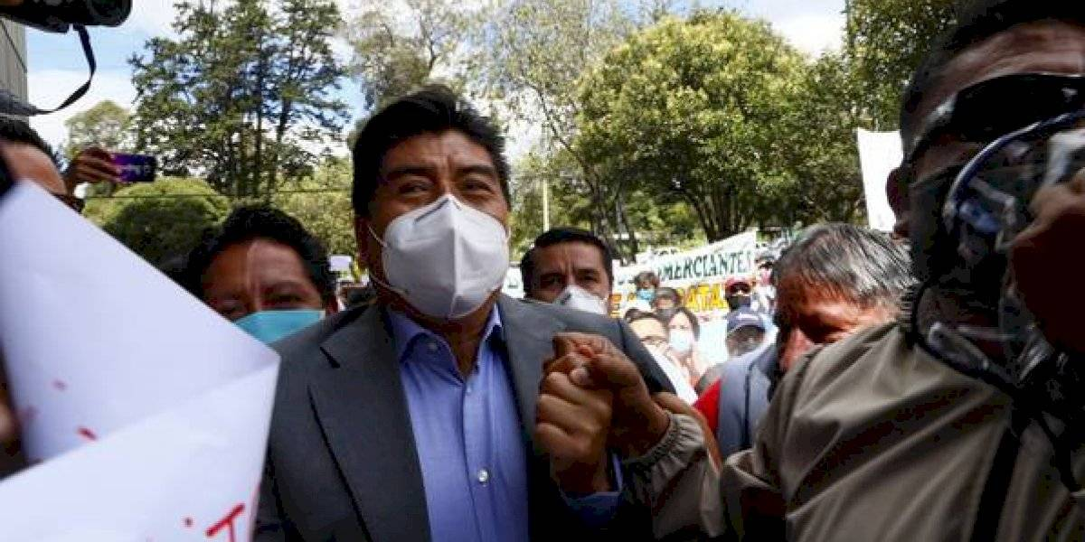 Alcalde Jorge Yunda se pronuncia por asesinato de agente metropolitano