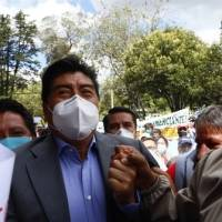 Alcalde Jorge Yunda asegura que no dejará su cargo y cumple con presentación periódica a la justicia