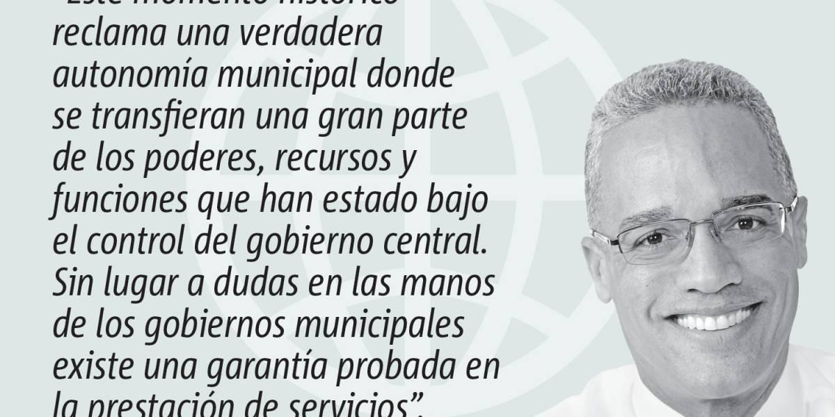 Opinión de Luis Daniel Rivera: Una verdad autonomía municipal