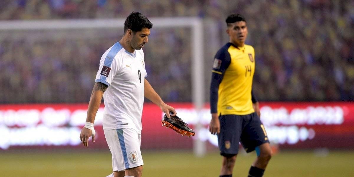 Luis Suárez dio positivo a coronavirus y se pierde el partido ante Brasil