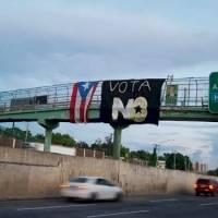 """Reportan manifestación en San Juan a favor del """"No"""" en el plebiscito"""