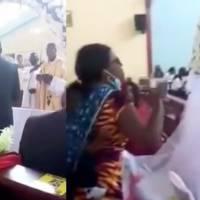 ¡Descarado! Mujer detiene la boda de su propio esposo