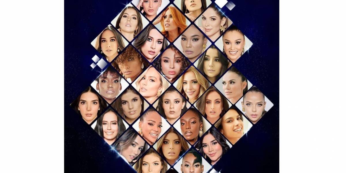 Una de ellas será la nueva Señorita Colombia de la nueva versión del reinado Miss Universe Colombia