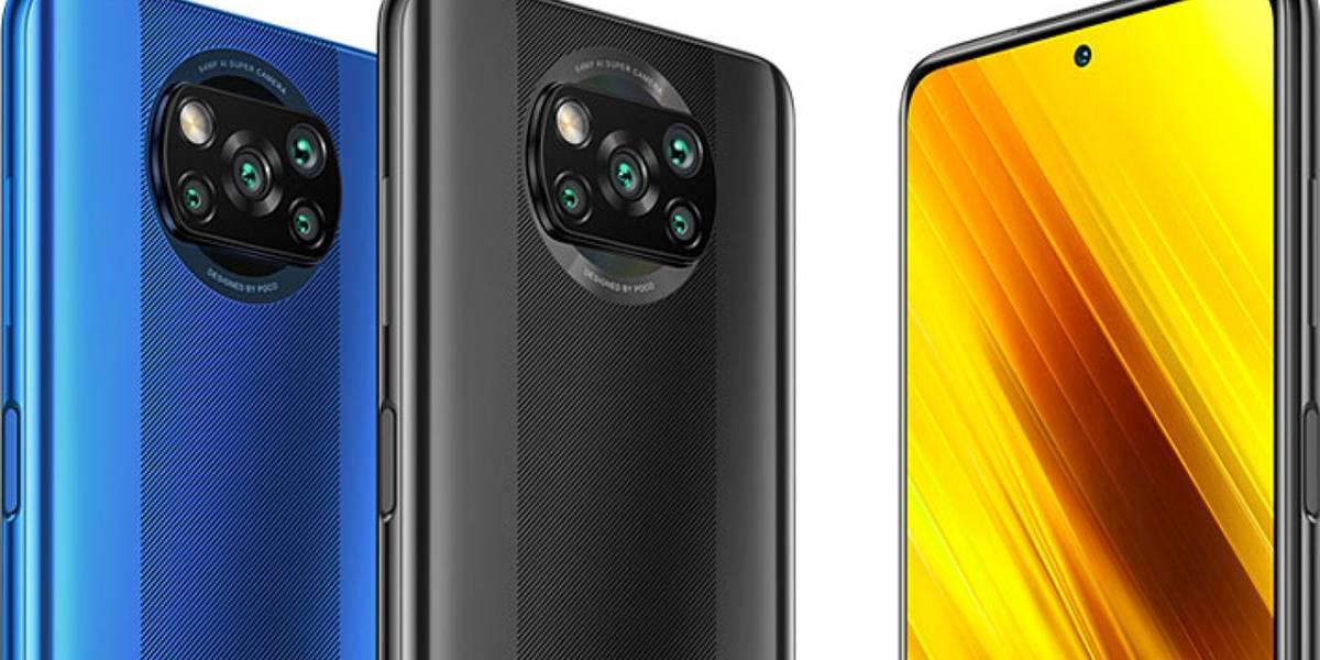 El POCO X3 NFC se presentó oficialmente en México junto a sus precios oficiales