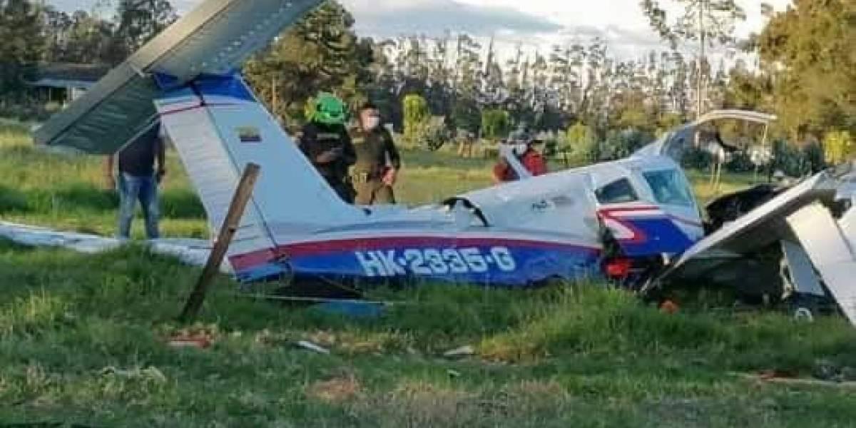 Cómo sobrevivió un bebé de 18 meses al accidente de avioneta en Ubaté