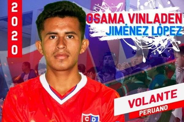 """Osama Vinladen es el """"gran nombre"""" con el que se reforzó Unión Comercio de Perú"""